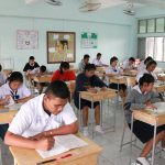 โรงเรียนเป็นสนามสอบ O Net ระดับชั้นมัธยมศึกษาปีที่ 3  (5 ก.พ. 2561)